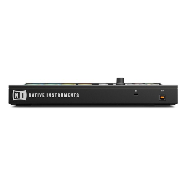 Native Instruments Maschine Mikro MK2 with Komplete 11 ULT, Black - Rear