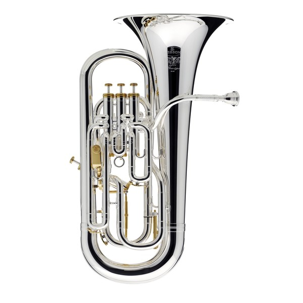 Besson Prestige BE2052 Euphonium, Silver Plated