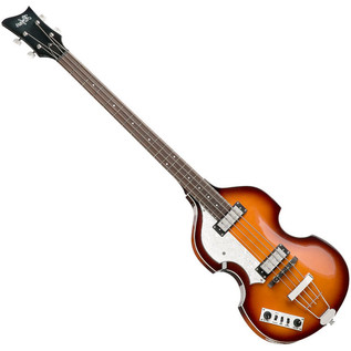 Hofner Ignition Left Handed Violin Bass, Sunburst