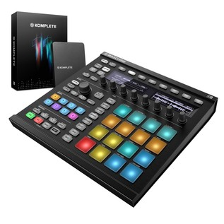 Native Instruments Maschine MK2 with Komplete 11, Black - Bundle