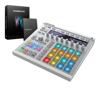 Native Instruments Maschine MK2 with Komplete 11, White - Bundle