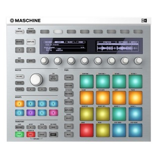 Native Instruments Maschine MK2 with Komplete 11, White - Top