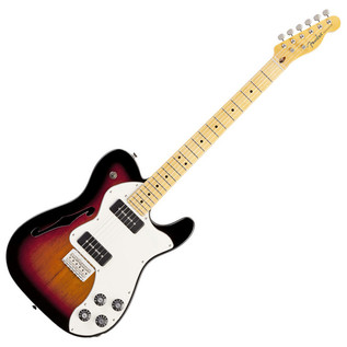 Fender Modern Player Telecaster Thinline Deluxe, 3 Colour Sunburst