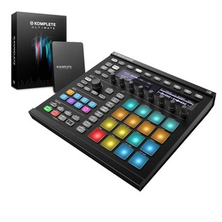 Native Instruments Maschine MK2 with Komplete 11 ULT, Black - Bundle