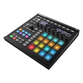 Native Instruments Maschine MK2 with Komplete 11 ULT, Black - Angled
