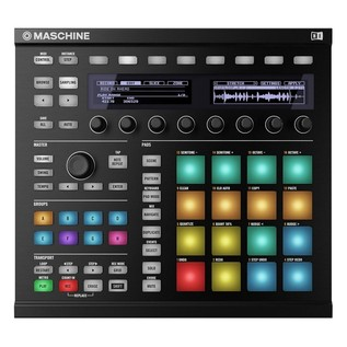 Native Instruments Maschine MK2 with Komplete 11 ULT, Black - Top