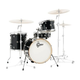 Gretsch Catalina Club Jazz 18'' 4 Pc Shell Pack, Piano Black