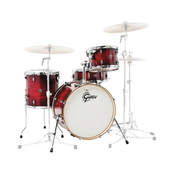 "Gretsch Catalina Club Classic 20"" 4pc Shell Pack, Crimson Burst"