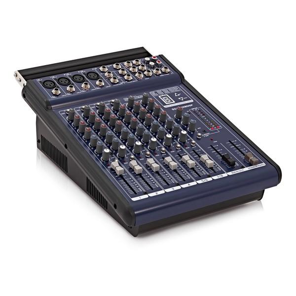 SubZero SZ-PMIX8DSP 200W Powered DSP Mixer by Gear4music
