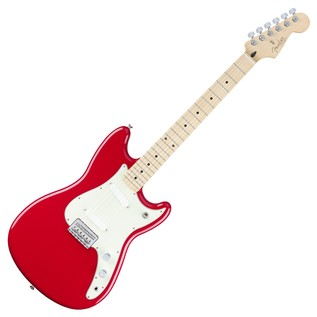 Fender Duo-Sonic Electric Guitar, MN, Torino Red