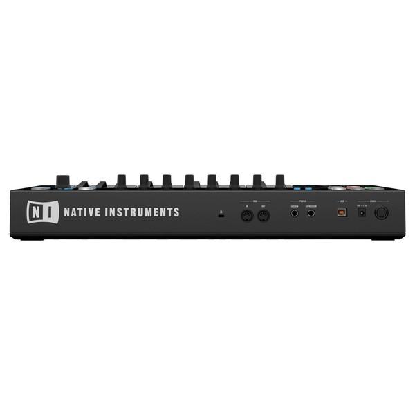 Native Instruments Komplete Kontrol S25 with Komplete 11 Ultimate - Rear