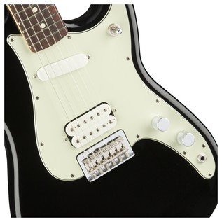 Duo-Sonic HS Electric Guitar, RW, Black