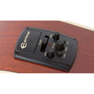 Epiphone Hummingbird Pro Electro Acoustic Guitar Electronics