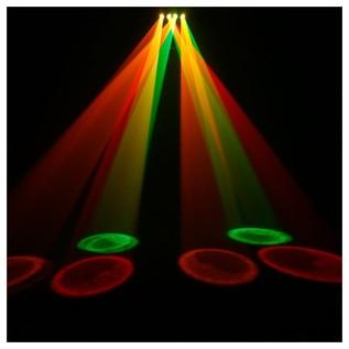 Cameo WAYFARER Four Eyes Derby Matrix LED Lighting Effect