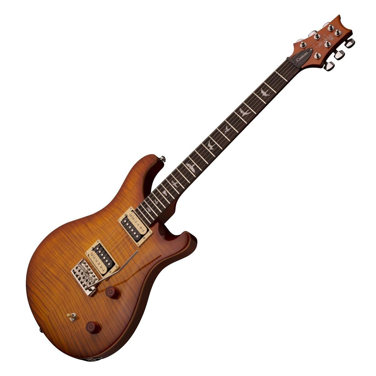disc prs se custom 22 electric guitar with tremolo vintage sunburst at gear4music. Black Bedroom Furniture Sets. Home Design Ideas