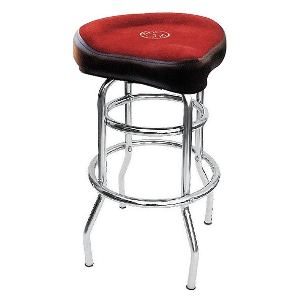 """Roc N Soc Tower Stool Tall 29"""", Red"""