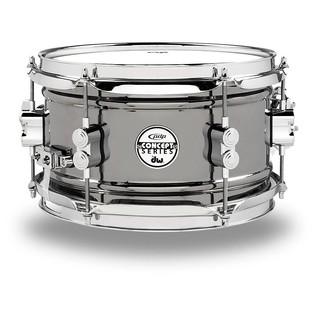 PDP Black Nickel Over Steel Snare Drum, 10 x 6