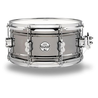 PDP Black Nickel Over Steel Snare Drum, 13 x 6,5