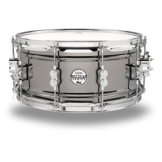 PDP Black Nickel Over Steel Snare Drum, 14 x 6,5