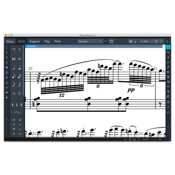 Steinberg Dorico Scoring Software - Screenshot 2