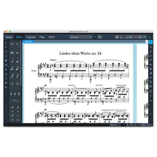 Steinberg Dorico Scoring Software - Screenshot 7