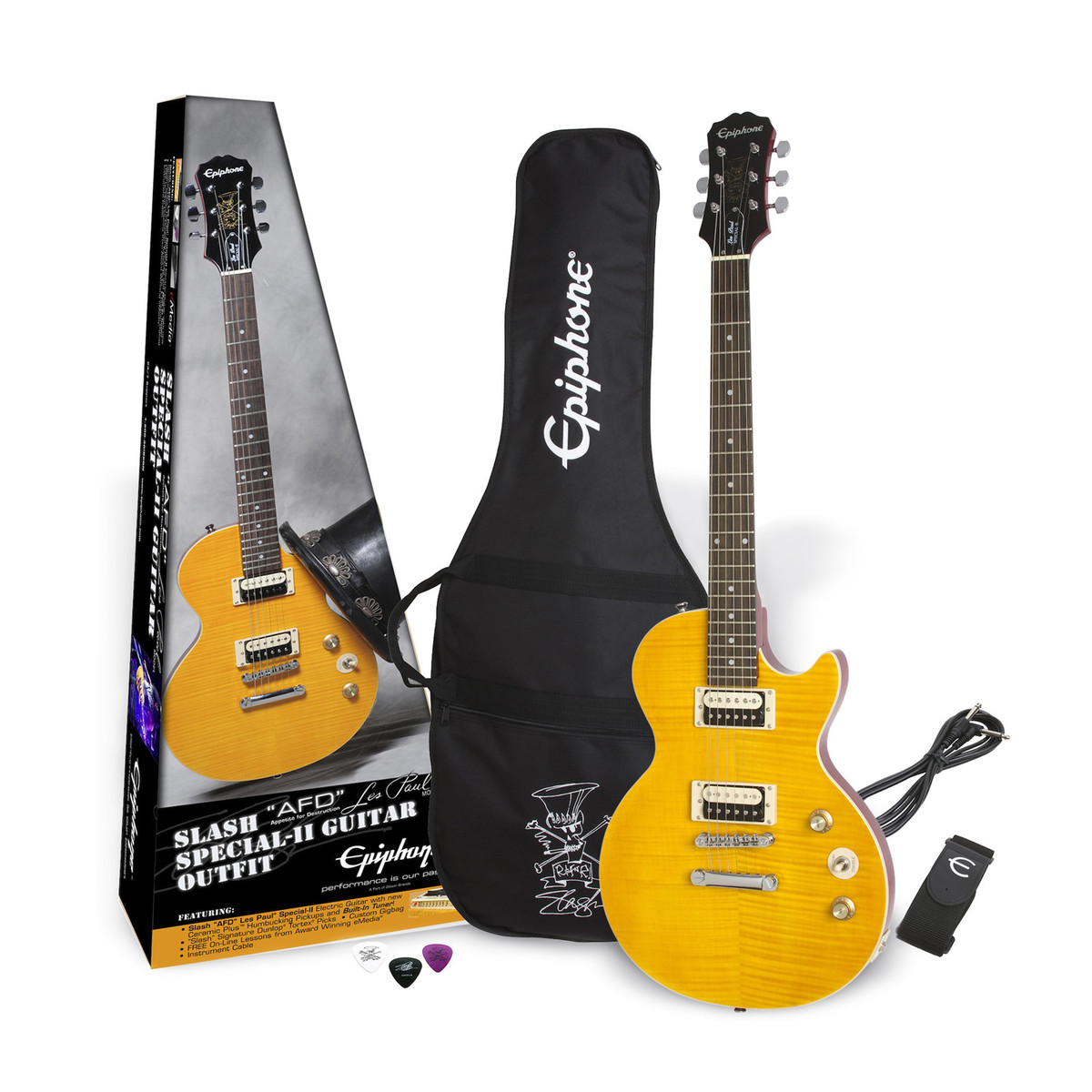 epiphone slash 39 afd 39 les paul special ii electric guitar outfit b stock at gear4music. Black Bedroom Furniture Sets. Home Design Ideas
