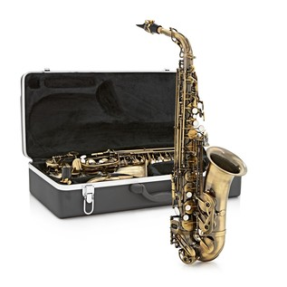 Alto Saxophone by Gear4music, Vintage