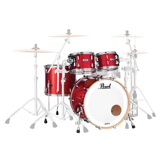 Pearl Masters MCT 20'' Fusion 4pc Shell Pack, Inferno Red Sparkle