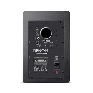 Native Instruments Traktor Kontrol S8 with Denon DN-306 Monitors - Monitor Rear