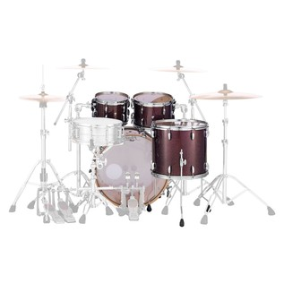 Pearl Masters MCT 22'' Am Fusion 4pc Shell Pack, Bronze Sparkle