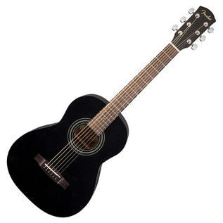 Fender MA-1 3/4 Acoustic Guitar, Gloss Black