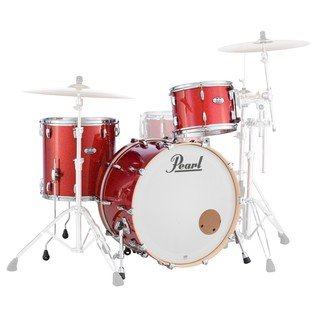 Pearl Masters MCT 24'' 3pc Shell Pack, Inferno Red Sparkle