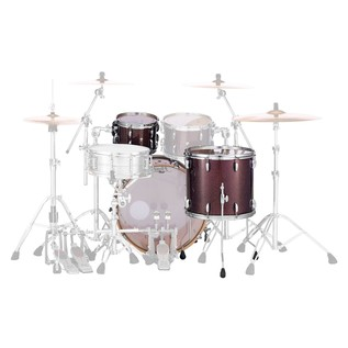 Pearl Masters MCT 24'' 3pc Shell Pack, Bronze Sparkle