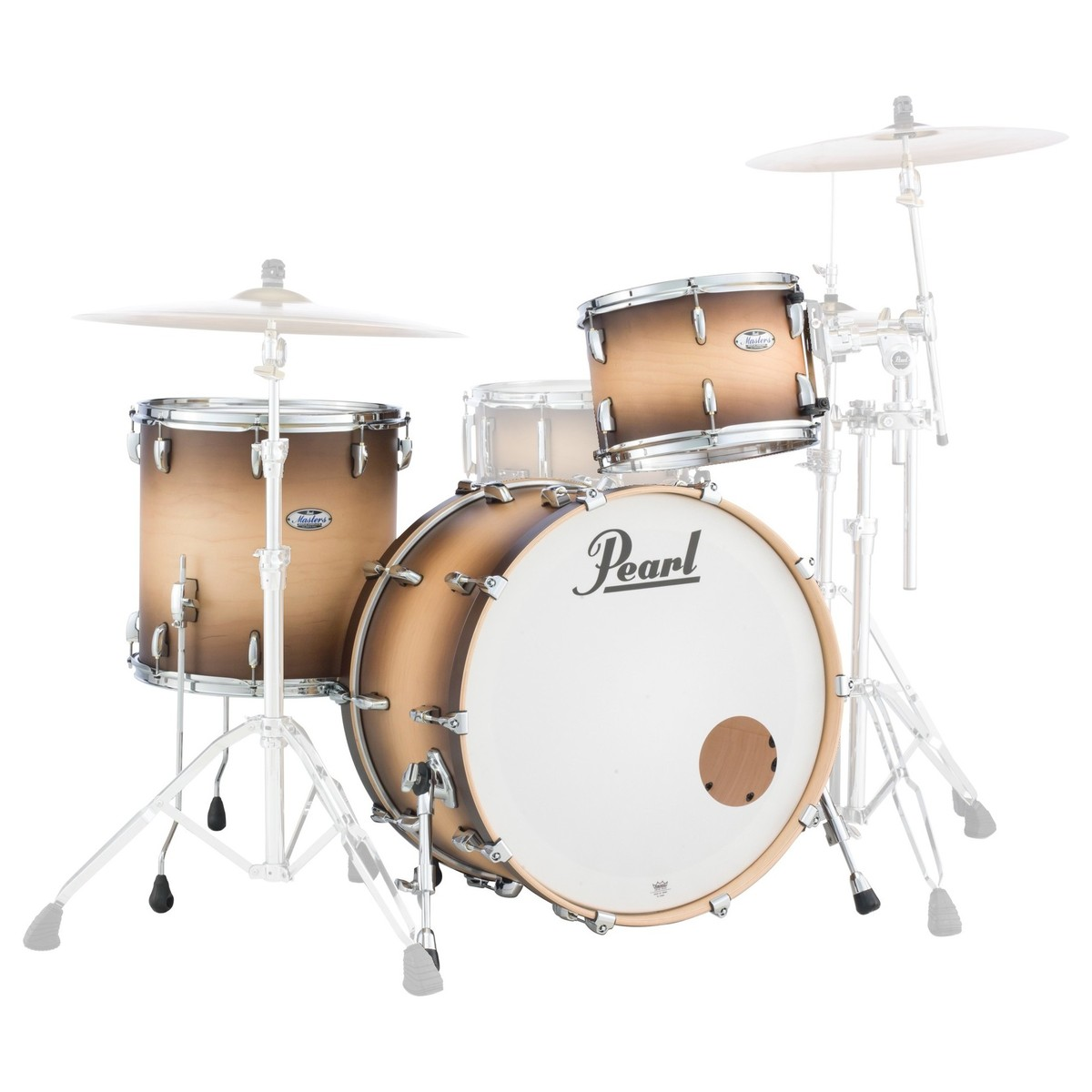Pearl Masters MCT 24 3pc Shell Pack Satin Natural Burst