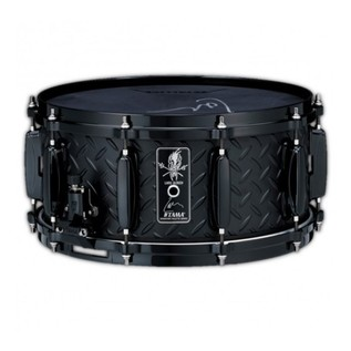 Tama Lars Ulrich Limited Edition 14 x 6.5 Diamond Plate Snare Drum