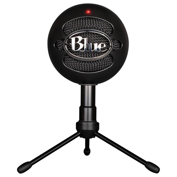 Blue Snowball Studio, Black - Front