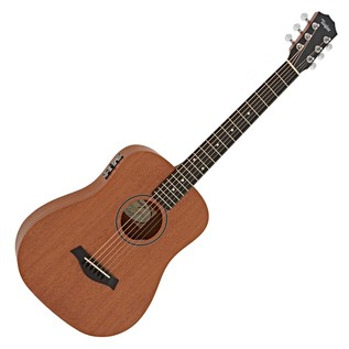 Taylor Baby Acoustic Travel Guitar with Pickup, Mahogany Top
