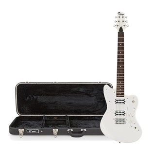 Badger Classic Electric Guitar and Case, White