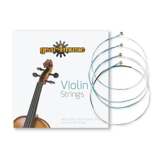 Violin String Set 1/2 size by Gear4music