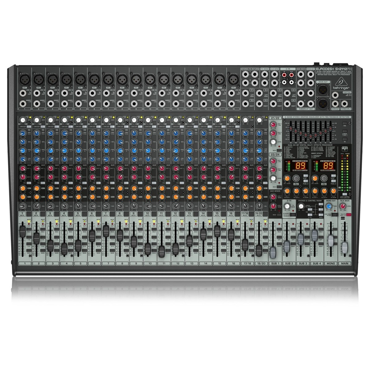 behringer eurodesk sx2442fx 24 channel analog mixer at gear4music. Black Bedroom Furniture Sets. Home Design Ideas