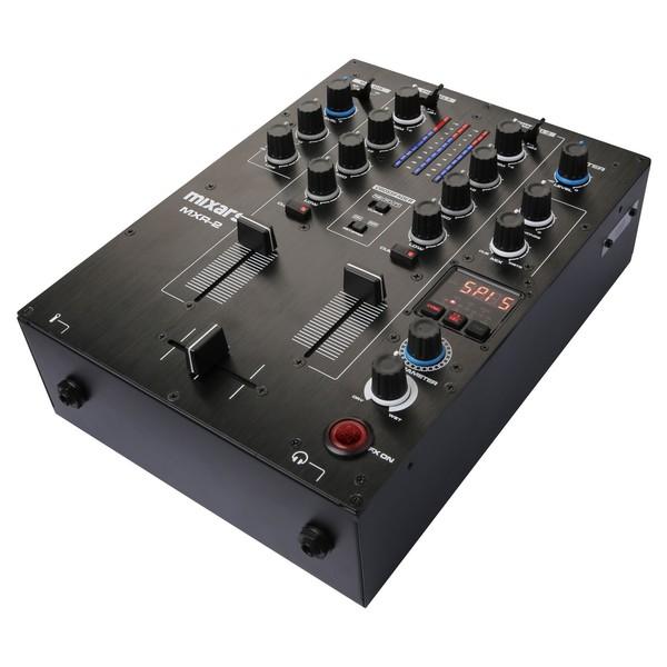 Mixars MXR2 2 Channel DJ Mixer - Angled