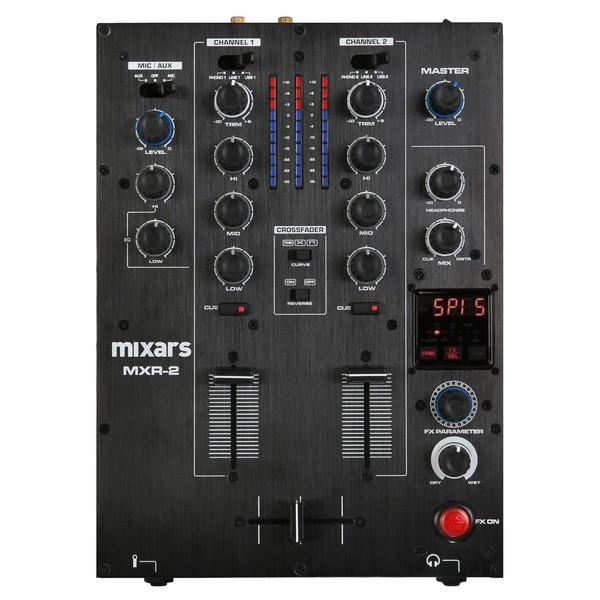 Mixars MXR2 2 Channel DJ Mixer - Top
