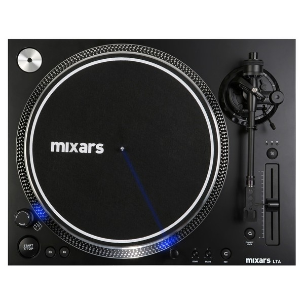 Mixars Turntable LTA, Straight Arm - Top
