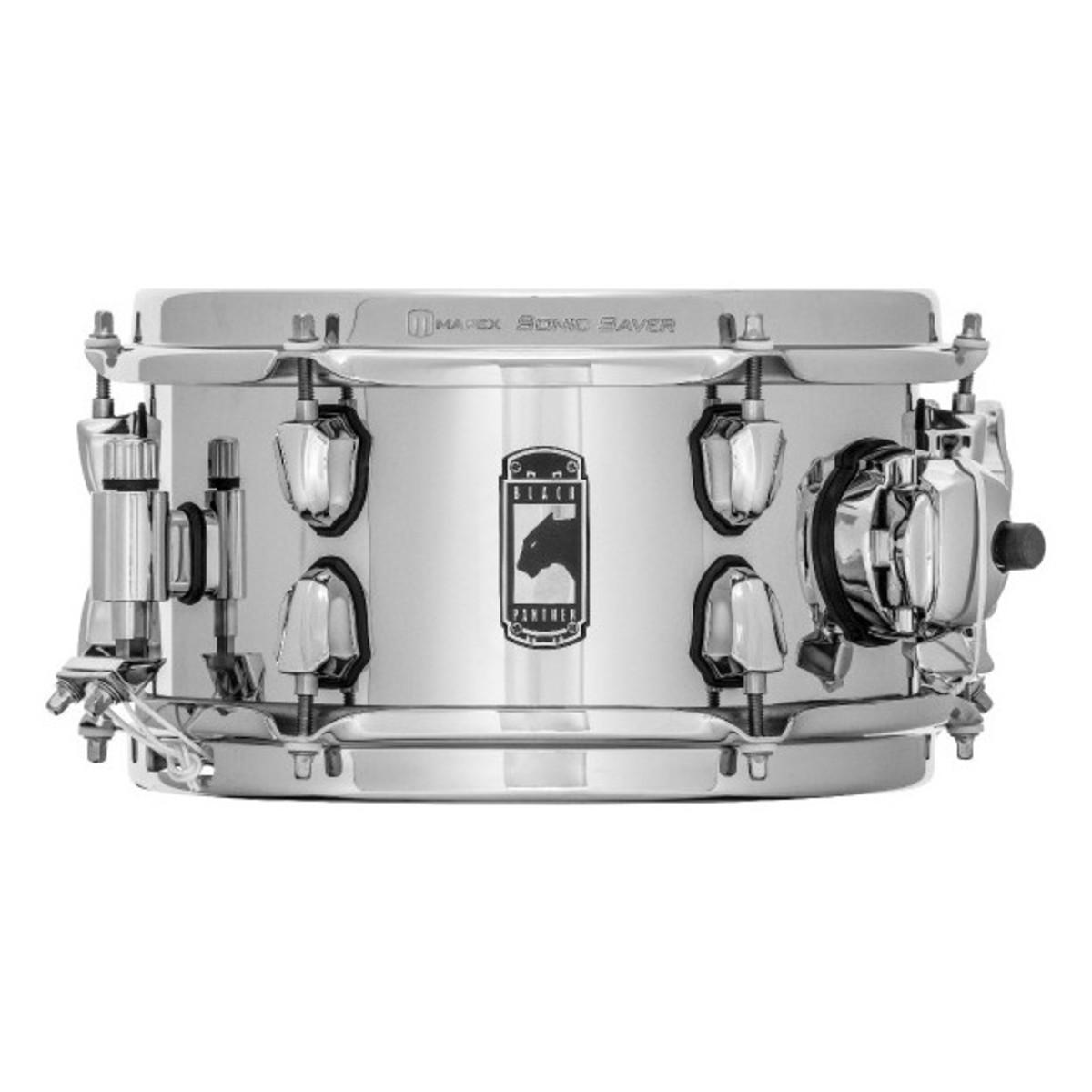 mapex black panther the stinger 10 x 5 5 steel snare drum at gear4music. Black Bedroom Furniture Sets. Home Design Ideas