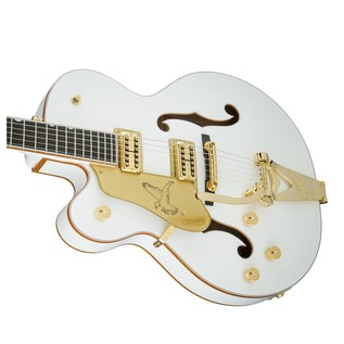 Gretsch G6136TLH-WHT Players Edition Falcon LH with Bigsby, White