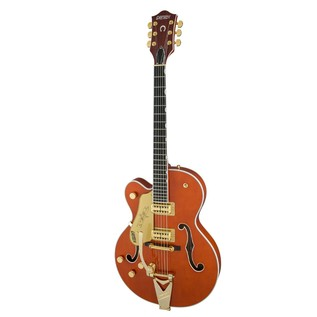 Gretsch G6120TLH Players Edition Nashville LH w/ Bigsby, Orange Stain