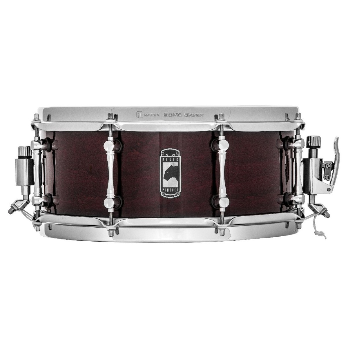Mapex Black Panther The Cherry Bomb 13 x 5.5 Cherry Snare Drum bei ...