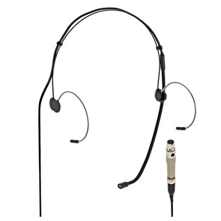 SubZero Black Headset Microphone - AKG Compatible