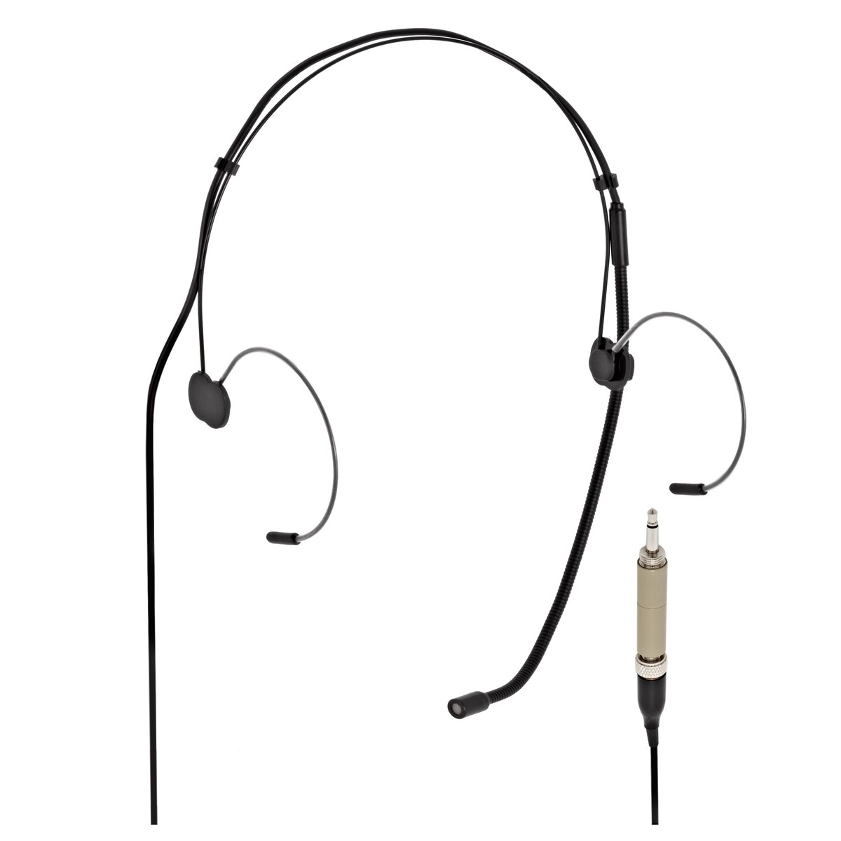 subzero headset microphone with minijack connector  black at gear4music