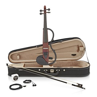 Yamaha SV130 Silent Violin Kit, Brown